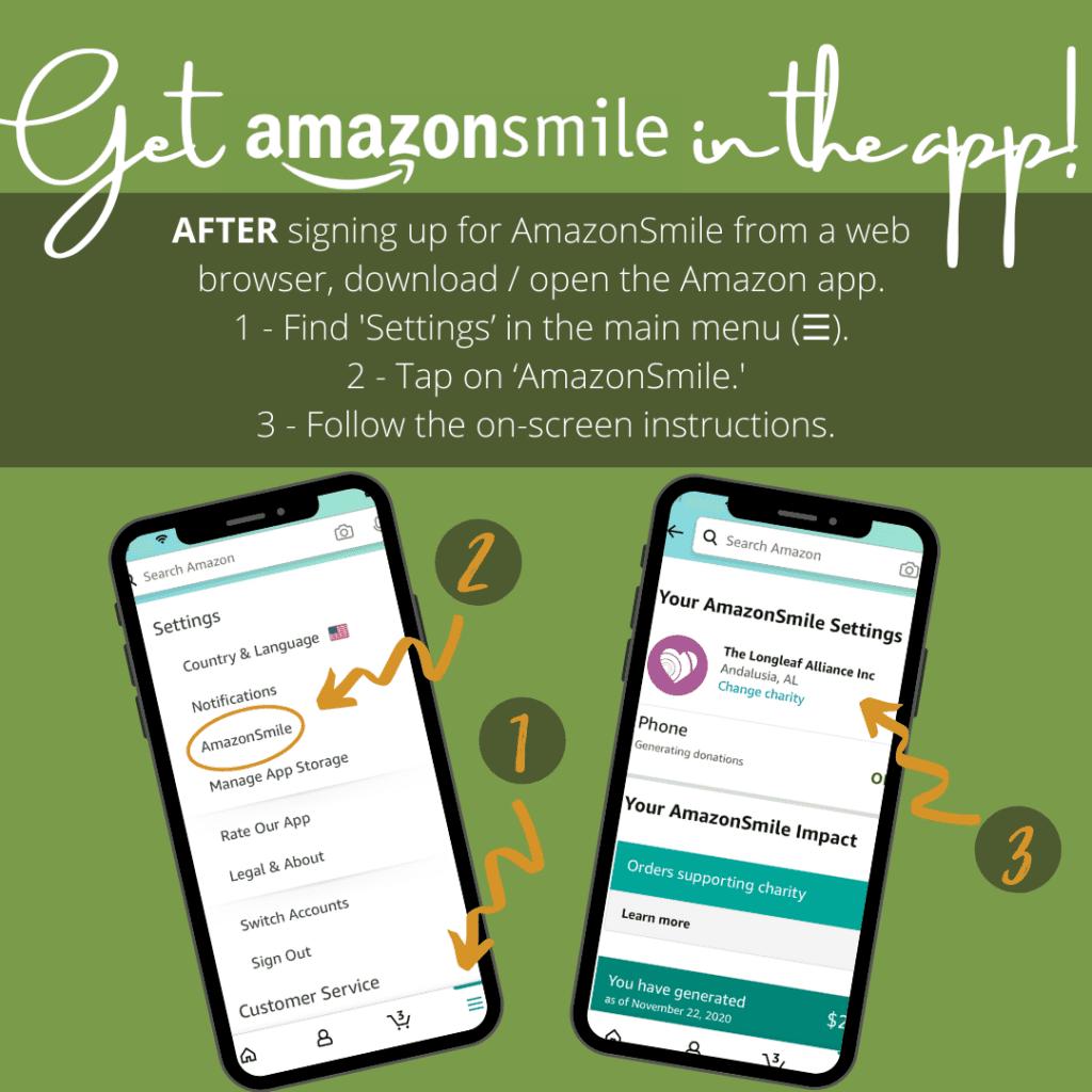 Amazon Smile app (1)